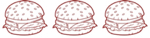 burger 3 stars
